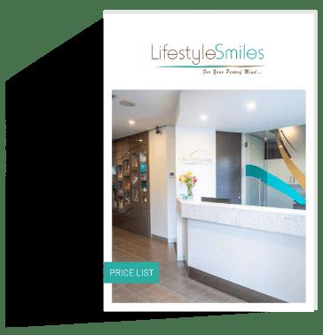 Lifestyle Smiles dental price list